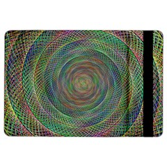 Spiral Spin Background Artwork Ipad Air 2 Flip by Nexatart