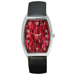 Abstract 3 Barrel Style Metal Watch by tarastyle
