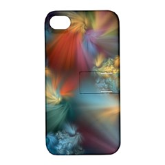 Evidence Of Angels Apple Iphone 4/4s Hardshell Case With Stand by WolfepawFractals