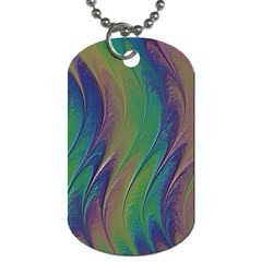 Texture Abstract Background Dog Tag (two Sides)