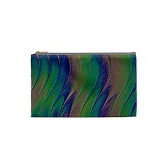 Texture Abstract Background Cosmetic Bag (small)  by Nexatart
