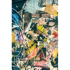 Art Graffiti Abstract Vintage 5 5  X 8 5  Notebooks by Nexatart
