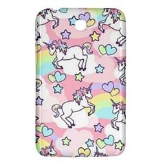 Unicorn Rainbow Samsung Galaxy Tab 3 (7 ) P3200 Hardshell Case