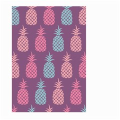 Pineapple Pattern Large Garden Flag (two Sides) by Nexatart