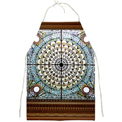 Stained Glass Window Library Of Congress Full Print Aprons by Nexatart