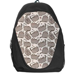 Pusheen Wallpaper Computer Everyday Cute Pusheen Backpack Bag by Nexatart