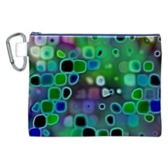Psychedelic Lights 1 Canvas Cosmetic Bag (xxl) by MoreColorsinLife