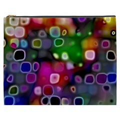 Psychedelic Lights 2 Cosmetic Bag (xxxl)  by MoreColorsinLife