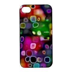 Psychedelic Lights 2 Apple Iphone 4/4s Hardshell Case With Stand by MoreColorsinLife