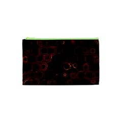 Psychedelic Lights 4 Cosmetic Bag (xs) by MoreColorsinLife