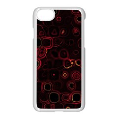 Psychedelic Lights 4 Apple Iphone 7 Seamless Case (white) by MoreColorsinLife