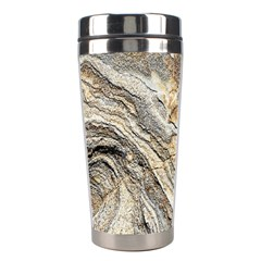 Background Structure Abstract Grain Marble Texture Stainless Steel Travel Tumblers by Nexatart