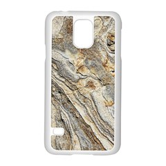 Background Structure Abstract Grain Marble Texture Samsung Galaxy S5 Case (white) by Nexatart