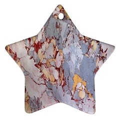 Marble Pattern Ornament (star) by Nexatart