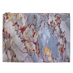 Marble Pattern Cosmetic Bag (xxl)  by Nexatart