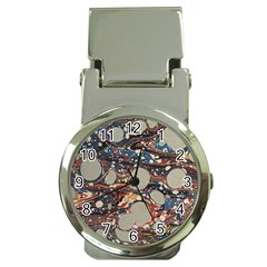 Marbling Money Clip Watches by Nexatart