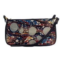 Marbling Shoulder Clutch Bags by Nexatart