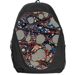 Marbling Backpack Bag by Nexatart