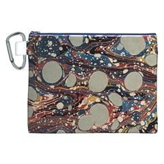 Marbling Canvas Cosmetic Bag (xxl) by Nexatart