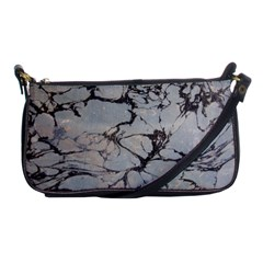 Slate Marble Texture Shoulder Clutch Bags by Nexatart