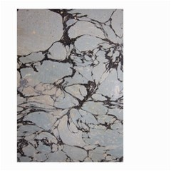 Slate Marble Texture Small Garden Flag (two Sides) by Nexatart