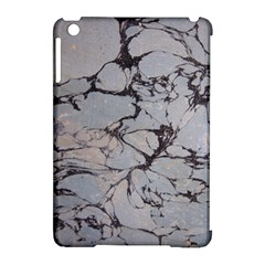 Slate Marble Texture Apple Ipad Mini Hardshell Case (compatible With Smart Cover) by Nexatart