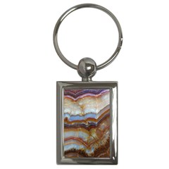 Wall Marble Pattern Texture Key Chains (rectangle)  by Nexatart