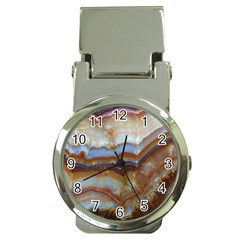Wall Marble Pattern Texture Money Clip Watches by Nexatart