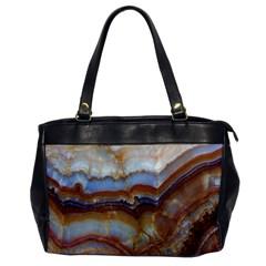 Wall Marble Pattern Texture Office Handbags by Nexatart