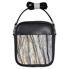 Texture Structure Marble Surface Background Girls Sling Bags by Nexatart