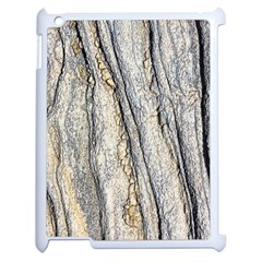 Texture Structure Marble Surface Background Apple Ipad 2 Case (white) by Nexatart