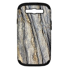 Texture Structure Marble Surface Background Samsung Galaxy S Iii Hardshell Case (pc+silicone) by Nexatart