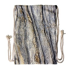 Texture Structure Marble Surface Background Drawstring Bag (large) by Nexatart