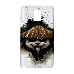 Warrior Panda T Shirt Samsung Galaxy Note 4 Hardshell Case by AmeeaDesign