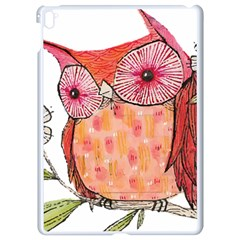Summer Colourful Owl T Shirt Apple Ipad Pro 9 7   White Seamless Case by AmeeaDesign