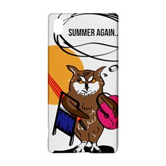 Owl That Hates Summer T Shirt Sony Xperia Z3+ by AmeeaDesign