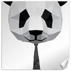 Office Panda T Shirt Canvas 20  X 20   by AmeeaDesign