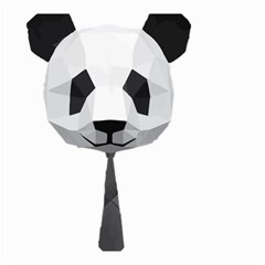 Office Panda T Shirt Small Garden Flag (two Sides) by AmeeaDesign