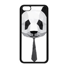Office Panda T Shirt Apple Iphone 5c Seamless Case (black) by AmeeaDesign