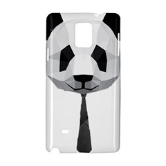 Office Panda T Shirt Samsung Galaxy Note 4 Hardshell Case by AmeeaDesign