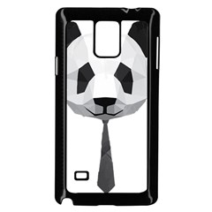 Office Panda T Shirt Samsung Galaxy Note 4 Case (black) by AmeeaDesign