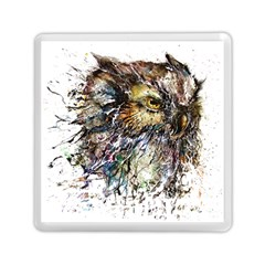 Angry And Colourful Owl T Shirt Memory Card Reader (square)  by AmeeaDesign