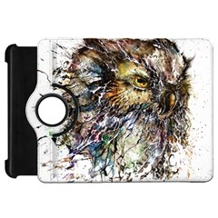 Angry And Colourful Owl T Shirt Kindle Fire Hd 7  by AmeeaDesign
