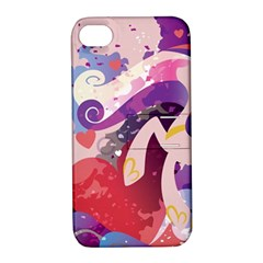 Cadance Stream Wall  Apple Iphone 4/4s Hardshell Case With Stand by amphoto