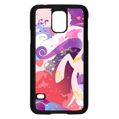 Cadance Stream Wall  Samsung Galaxy S5 Case (black) by amphoto