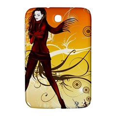 Girl Autumn Grass  Samsung Galaxy Note 8 0 N5100 Hardshell Case  by amphoto