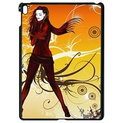 Girl Autumn Grass  Apple Ipad Pro 9 7   Black Seamless Case by amphoto
