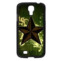 Star Dark Pattern  Samsung Galaxy S4 I9500/ I9505 Case (black) by amphoto