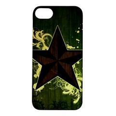 Star Dark Pattern  Apple Iphone 5s/ Se Hardshell Case by amphoto