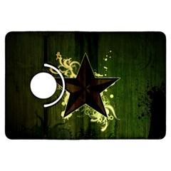 Star Dark Pattern  Kindle Fire Hdx Flip 360 Case by amphoto